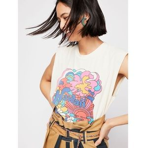 The Bureau x Free People • Hawaii Muscle Tee